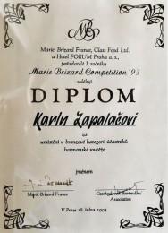 1993 Marie Blizzard - Bronzové pásmo