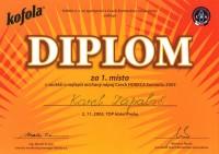 2005 1.místo Horeca