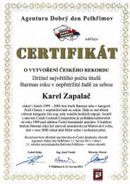 Česká kniha rekordů 2011