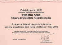 Ocenění Valašský pohár 2000