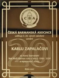 Uznání CBA 2007